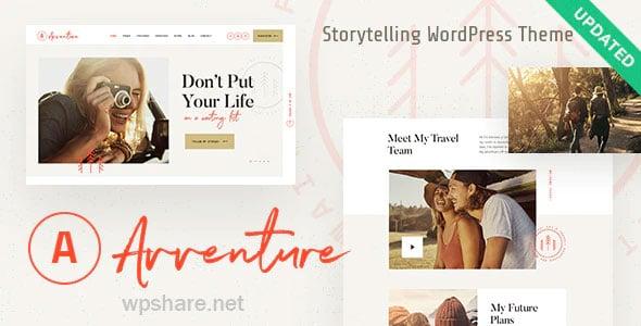 Avventure 1.1.3 – Personal Travel & Lifestyle Blog WordPress Theme