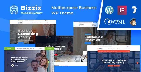 Bizzix 1.0 – Multipurpose Business WordPress Theme