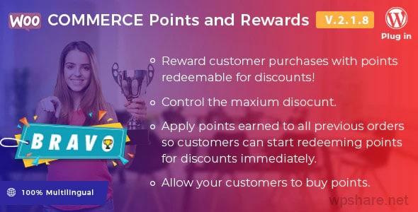 Bravo 2.2.3 – WooCommerce Points and Rewards WordPress Plugin