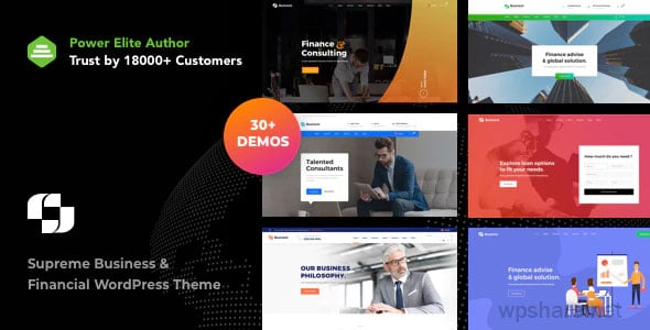 Businext 2.0.0 – Business and Financial Institution WordPress Theme