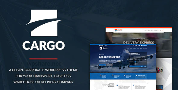 Cargo 1.3.3 – Transport & Logistics WordPress Theme