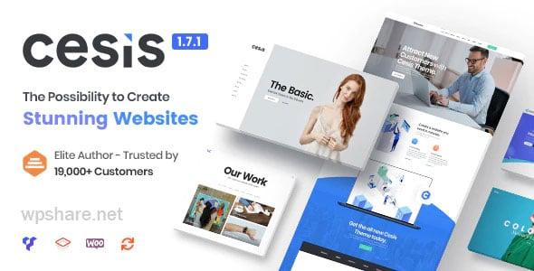 Cesis 1.8.7.20 – Responsive Multi-Purpose WordPress Theme
