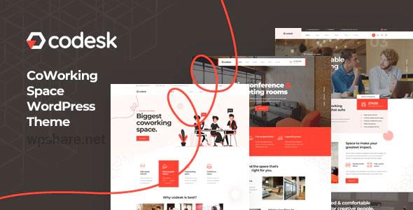 Codesk 1.0.2 – Creative Office Space WordPress Theme