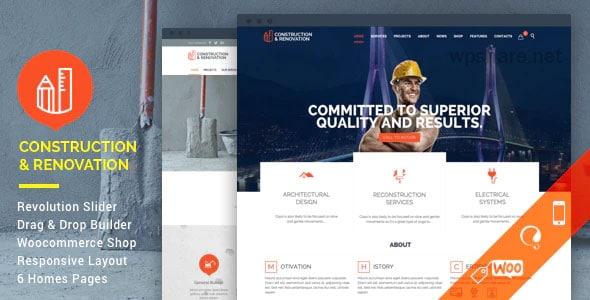Construction 18.1 – Building WordPress Theme