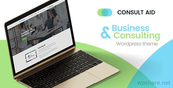 Consult Aid 1.4.2 – Business Consulting And Finance WordPress Theme