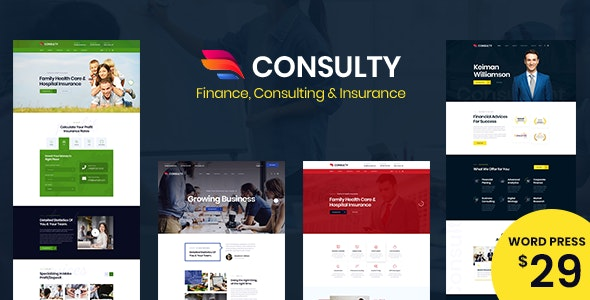 Consulty 1.0.4 – Business Finance WordPress Theme