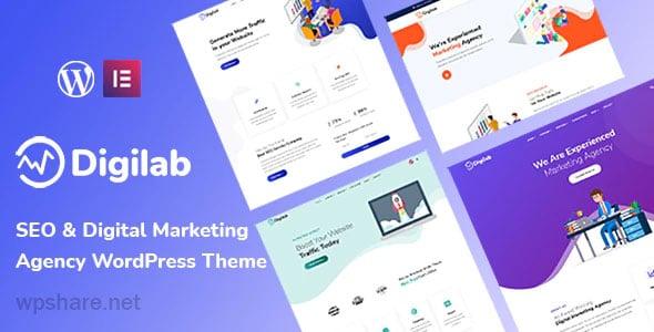 Digilab 1.0.1 – Digital Marketing Agency WordPress Theme