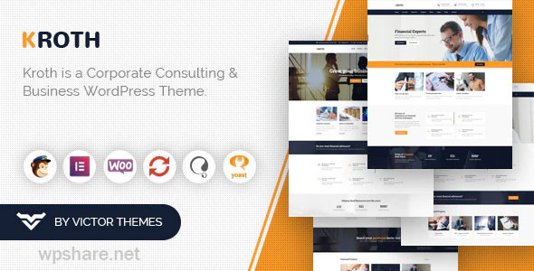 Kroth 1.9.7 – Business/Consulting WordPress Theme