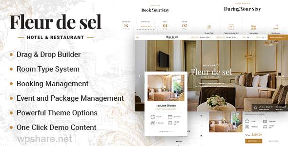 Fleurdesel 2.0.5 – Hotel Booking WordPress Theme