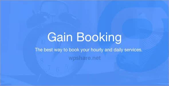 Gain Booking v1.1.3