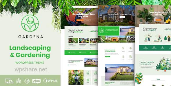 Gardena 1.1.0 – Landscaping & Gardening WordPress Theme