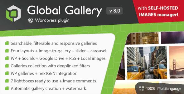 Global Gallery 8.0.1 – WordPress Responsive Gallery