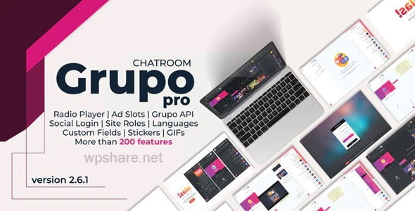 Grupo Chat Pro 2.6.1 – Chat room & Private Chat