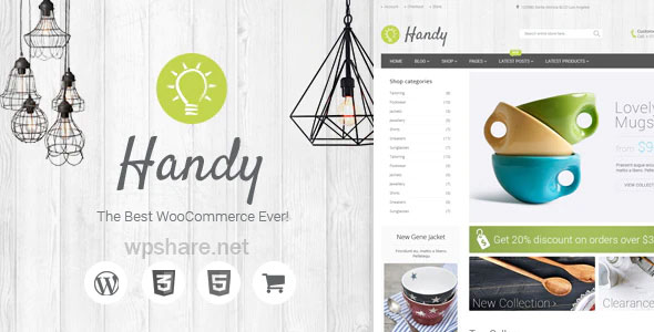Handy 5.2.0 – Handmade Shop WordPress WooCommerce Theme