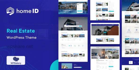 HomeID 1.2.6 – Real Estate WordPress Theme