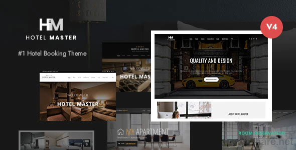 Hotel Master 4.1.2 – Hotel Booking WordPress Theme