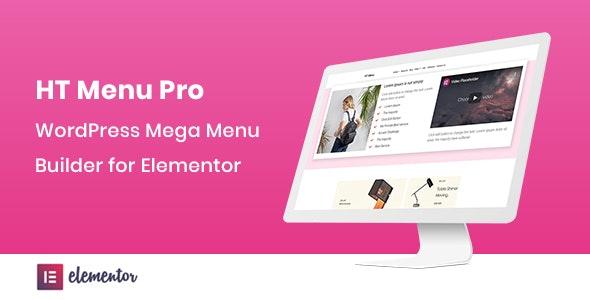 HT Menu Pro 1.0.3 – WordPress Mega Menu Builder for Elementor