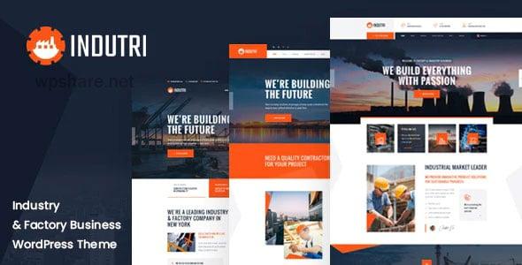 Indutri 1.0.3 – Factory & Industrial WordPress Theme