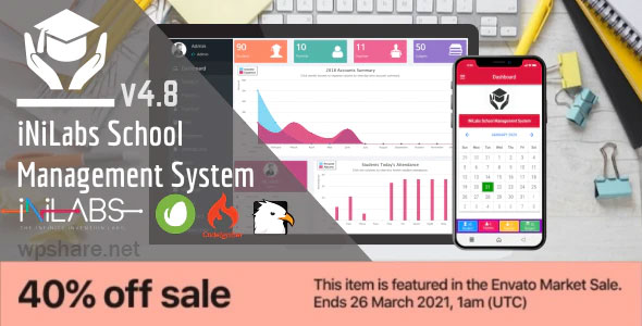 Inilabs School Express 4.6 – School Management System