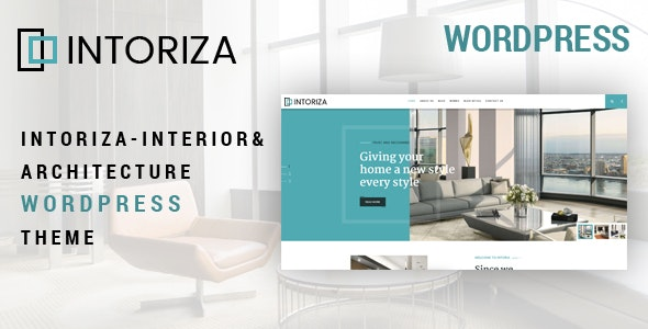 Intoriza 1.0.4 – Interior Architecture WordPress Theme