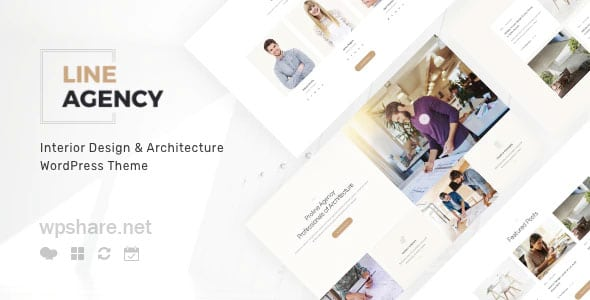 Line Agency 1.2.1 – Interior Design & Architecture WordPress Theme