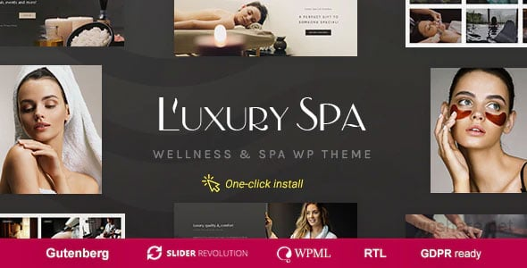 Luxury Spa 1.1.5 – Beauty & Wellness Theme