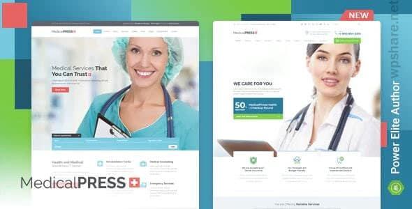 MedicalPress 3.4.0 – Health WordPress Theme