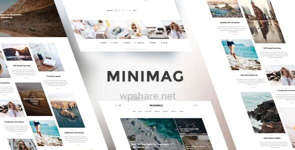 MiniMag 1.4.2 – Magazine and Blog WordPress Theme