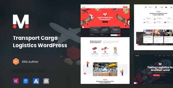 Moovit 1.2.0 – Transportation Logistics WordPress Theme