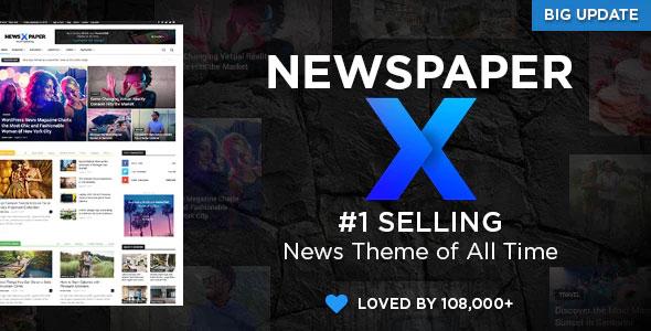Newspaper 10.4 – News Magazine WordPress Theme