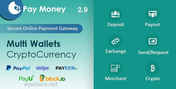 PayMoney 2.7 – Secure Online Payment Gateway