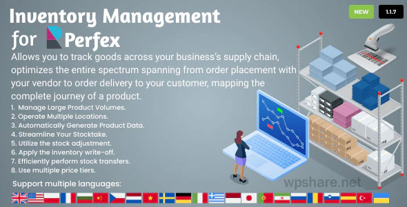 Inventory Management for Perfex CRM v1.0.0