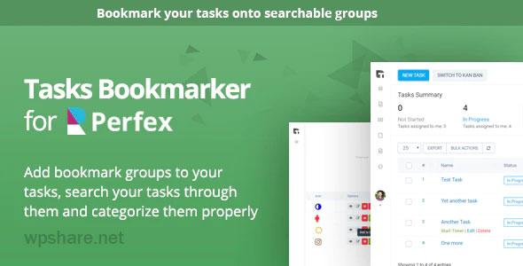 Tasks Bookmark module for Perfex CRM v1.0