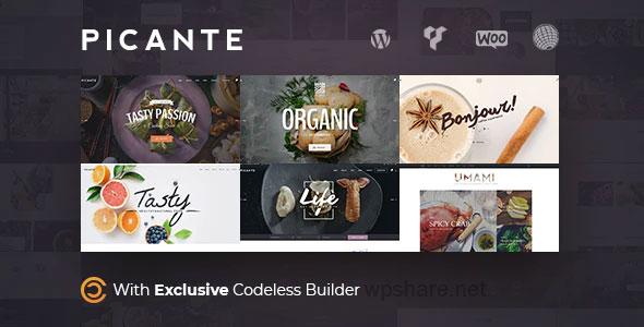 Picante 2.4.7 – Restaurant WordPress