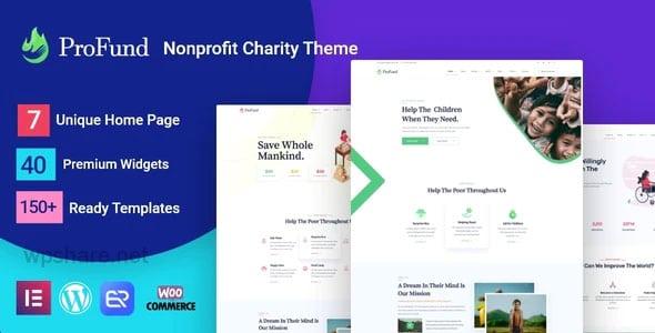 Nonprofit ProFund 3.3.0 – Charity Theme