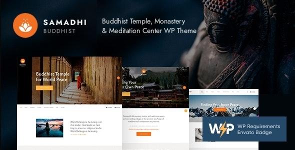 Samadhi 1.0.3 – Oriental Buddhist Temple WordPress Theme