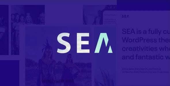 Gallery SEA 1.8.1 – WordPress Theme
