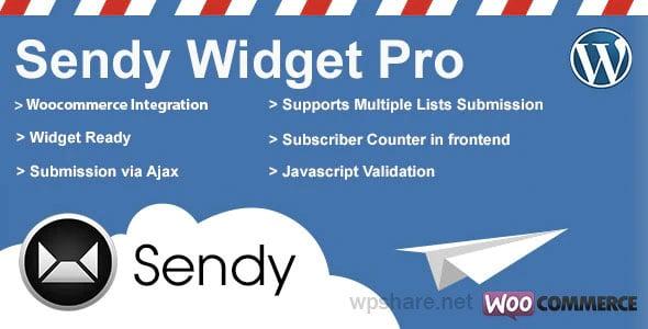 Sendy Widget Pro 3.5.1 – WordPress Plugin