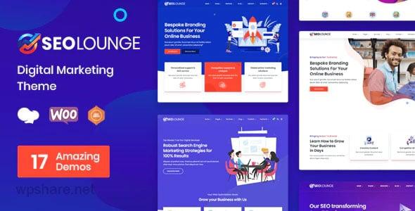 SEO Lounge 3.0.2 – Digital Marketing WordPress Theme