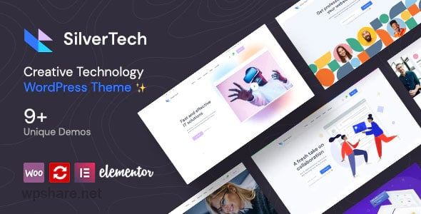 Silvertech 1.1 – Creative WordPress Theme