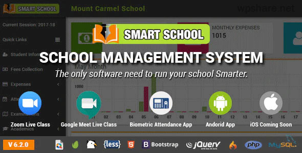 Smart School 6.1.0 – School Management System