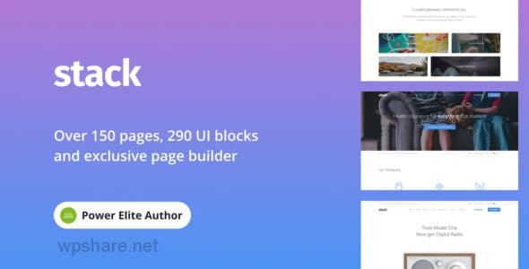 Stack 10.6.2 – Multi-Purpose WordPress Theme with Variant Page Builder & Visual Composer