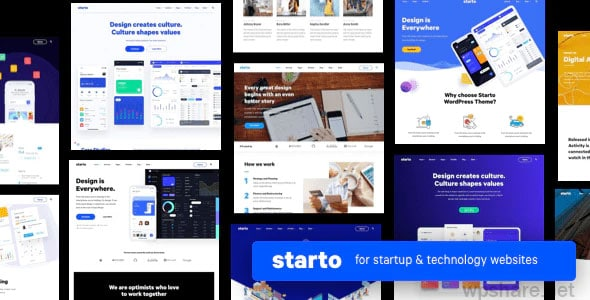 Starto 1.7.2 – Saas Software Startup WordPress