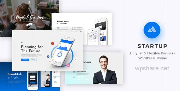 StartUp 2.4 – Responsive Multi-Purpose WordPress Theme