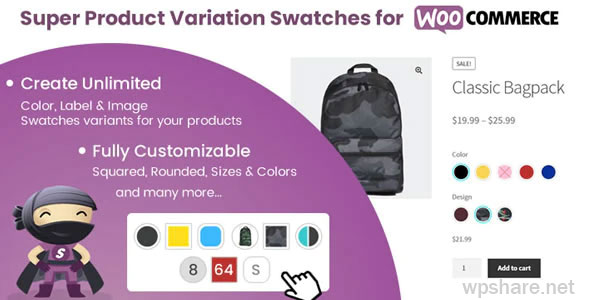 Super Product Variation Swatches for WooCommerce v1.9