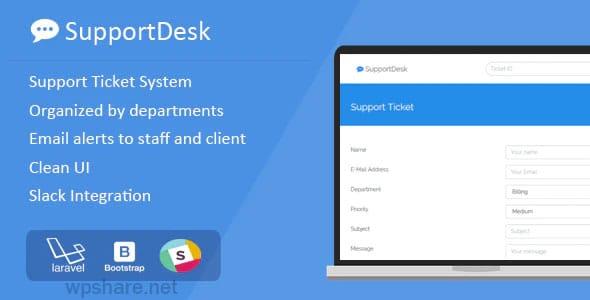 SupportDesk 2.0.0 – Support Ticket Management System