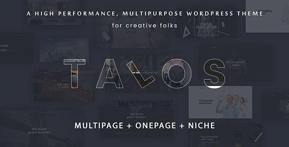 Talos 1.3.2 – Creative Multipurpose WordPress Theme