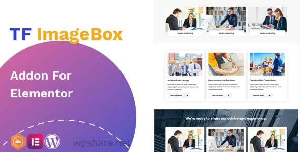 Image Box Addon 1.0.2 – widget for Elementor