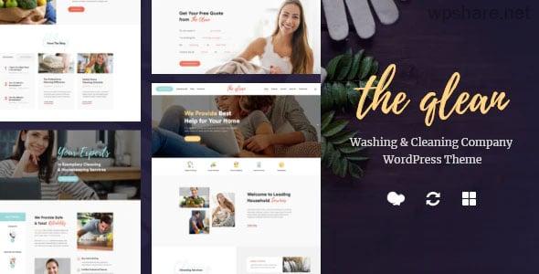 The Qlean 1.2.1 – Housekeeping: Washing & Cleaning Company WordPress