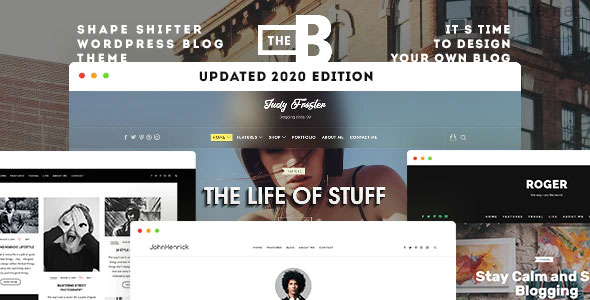 TheBlogger 2.1.2 – WordPress Theme